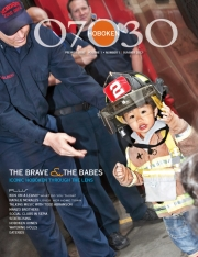 Hoboken Firefighters, Hoboken Magazine, 07030 Hoboken Cover