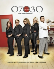 Cake Boss and Siblings, Hoboken Magazine, 07030 Hoboken Cover