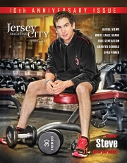 Jersey City Mayor Stephen Fulop, Jersey City Magazine Cover