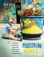 The Pedestrian Mall, Jersey City Magazine Cover